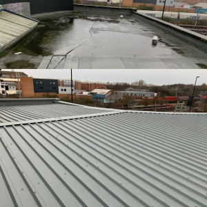 Pitched Roof Conversion in Byker.